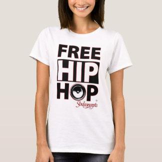 Vrij Hip Hop van vrouwen T Shirt