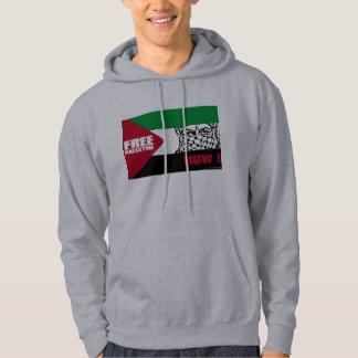 Vrij Palestina nu! Hoodie