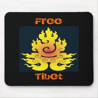 Vrij Tibet Mousepad Muismatten