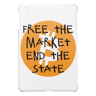 Vrije Bitcoin - het Eind van de Markt de Staat Hoesjes Voor iPad Mini