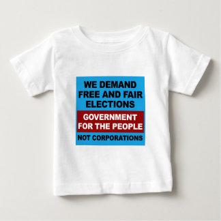 Vrije en Eerlijke Verkiezingen Baby T Shirts