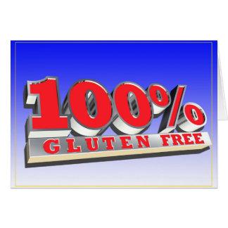 Vrije het Gluten van 100% Kaart