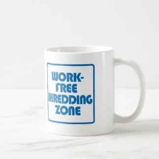 Vrije het Verscheuren van het werk Streek Koffiemok
