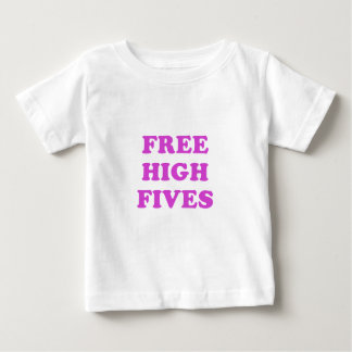 Vrije Hoge Fives Baby T Shirts