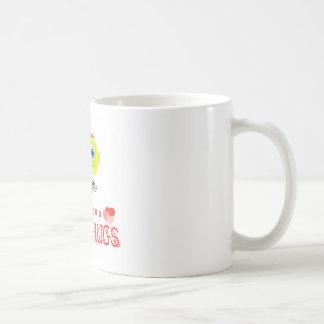 Vrije omhelzing-Leuke aap-Morocko Koffiemok