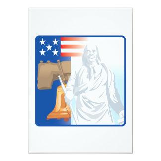 Vrijheid 12,7x17,8 Uitnodiging Kaart