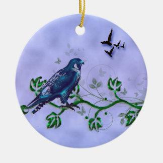 Vrijheid Rond Keramisch Ornament