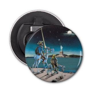 Vrijheid, Sancho,…  Trek Don Quichot aan Button Flesopener