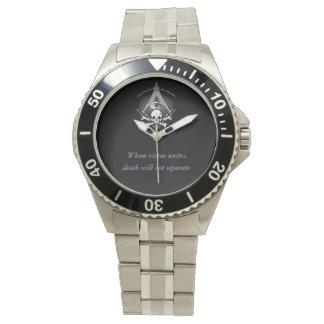Vrijmetselaars- Horloge voor de voorname