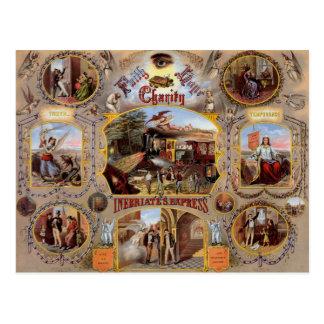 Vrijmetselaars- Poster Briefkaart