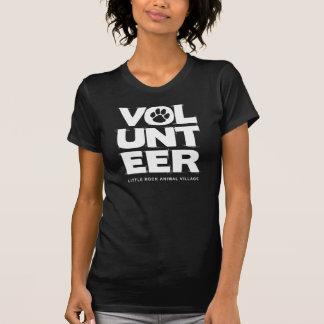 """Vrijwilliger,"" (de Zwarte) T-shirt van Dames LRAV"