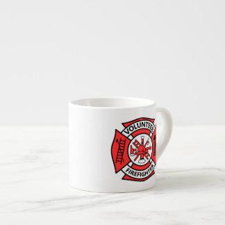 Vrijwilligers Brandbestrijder Espresso Kop
