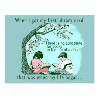 Vroege Lezing Briefkaart
