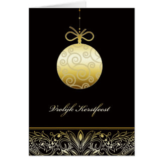 vrolijk Kerstfeest, Vrolijke Kerstmis in het Kaart