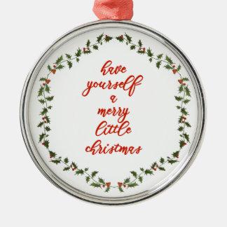 Vrolijk weinig Kerstmis - het Ornament van de