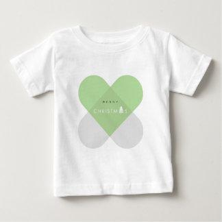 Vrolijke Groene Kerstmis - Baby T Shirts