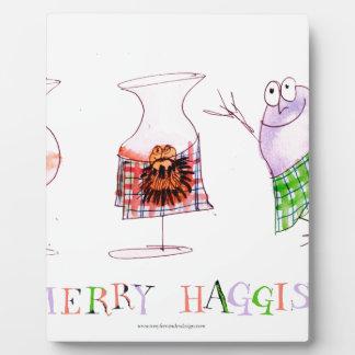 vrolijke haggis fotoplaat