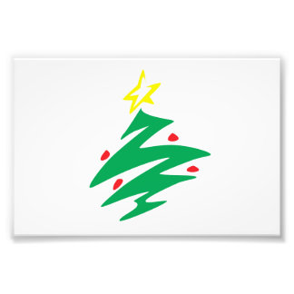 Vrolijke Kerstboom met de Mokken van de Foto Prints