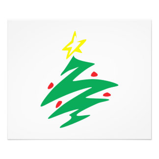 Vrolijke Kerstboom met de Uitnodiging van de Ster Foto