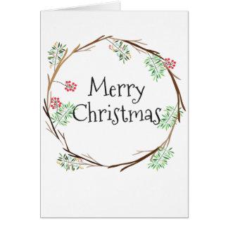 Vrolijke Kerstkaart Briefkaarten 0