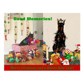 Vrolijke Kerstmis 2011 Briefkaart