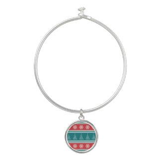 Vrolijke Kerstmis Bangle Armbandje