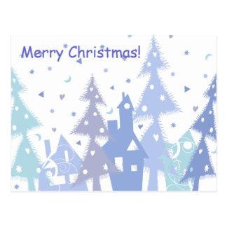 Vrolijke Kerstmis! Briefkaart