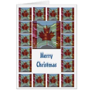 Vrolijke Kerstmis Canada - koop Spatie of voeg Kaart