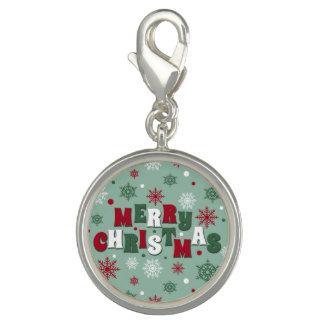 Vrolijke Kerstmis Charms