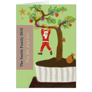 Vrolijke Kerstmis! Geniet van weinig Zegen… Briefkaarten 0