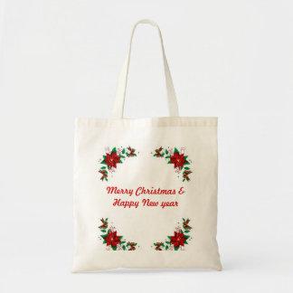 Vrolijke Kerstmis & het Gelukkige Nieuwe Bolsa van Draagtassen