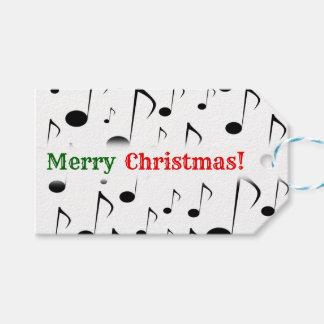 """""""Vrolijke Kerstmis! """"; Het Patroon van vele Cadeaulabel"""