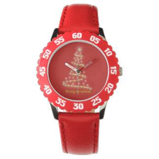 Vrolijke Kerstmis Horloge