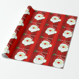 Vrolijke Kerstmis met het Verpakkende Document van Inpakpapier