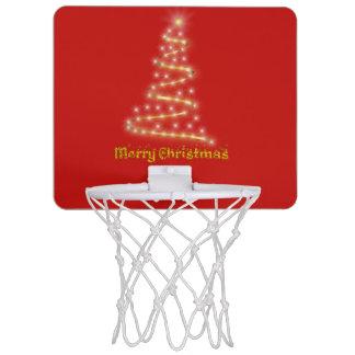 Vrolijke Kerstmis Mini Basketbalbord