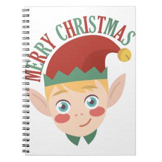 Vrolijke Kerstmis Notitieboek