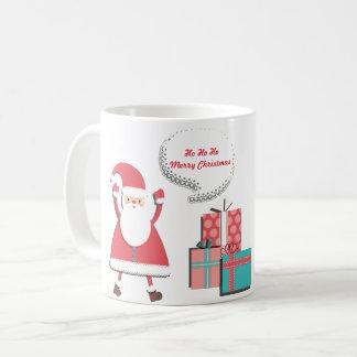 Vrolijke Kerstmis van de kerstman Koffiemok