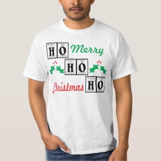 Vrolijke Kerstmis van SANTA. T Shirt
