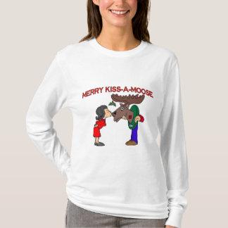 Vrolijke Kus een Amerikaanse eland T Shirt