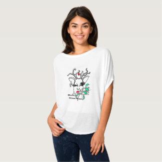 Vrolijke kus-Mas T Shirt