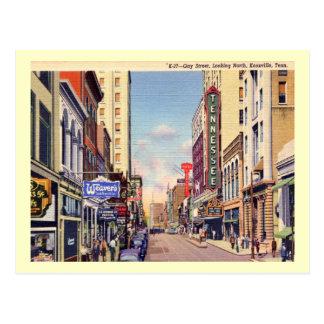 Vrolijke Straat, Knoxville, de Wijnoogst van Briefkaart