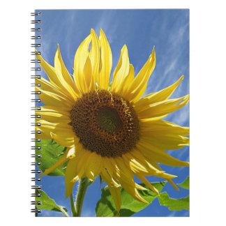 Vrolijke Zonnebloem Ringband Notitieboek