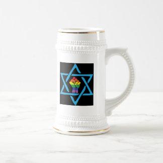 Vrolijke Zwarte Joods Bierpul