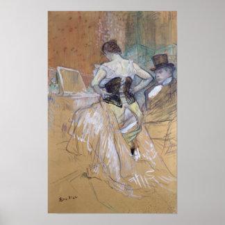 """Vrouw bij haar Toilet, studie voor """"Elles"""", c.1896 Poster"""