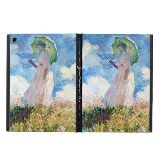 Vrouw met de dame van Claude Monet van de Parasol iPad Air Hoesje