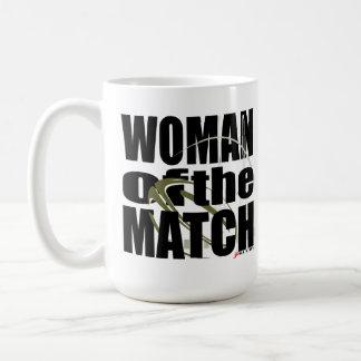 Vrouw van de Gelijke Koffiemok