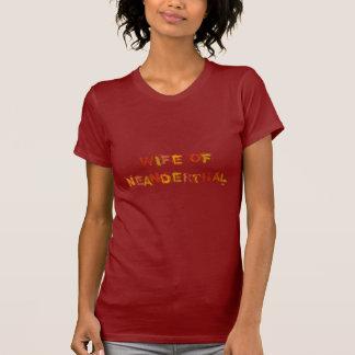 Vrouw van Neanderthaler (voorzijde en rug) T Shirt