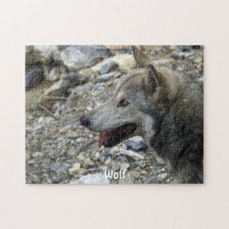 Vrouwelijk Grijs de wild-Verdediger van de Wolf Puzzels