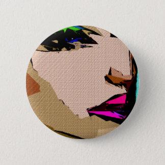 Vrouwelijke Uitdrukkingen 711 Ronde Button 5,7 Cm