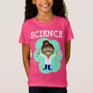 Vrouwelijke Wetenschapper op T-shirt van Jersey